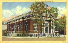 pst001060 - Hudson, NY USA,  Post Office Postcard, Postoffice Post Card Old Vintage Antique