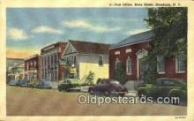 pst001063 - Hamburg, NY USA,  Post Office Postcard, Postoffice Post Card Old Vintage Antique
