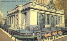 pst001082 - New York City, NY USA,  Post Office Postcard, Postoffice Post Card Old Vintage Antique