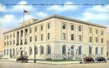 pst001083 - Waterloo, Iowa USA,  Post Office Postcard, Postoffice Post Card Old Vintage Antique
