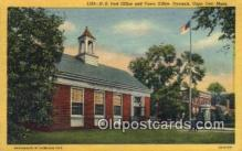 pst001088 - Cape Cod, Mass USA,  Post Office Postcard, Postoffice Post Card Old Vintage Antique