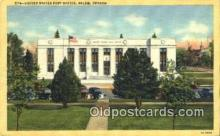 pst001090 - Salem, Oregon USA,  Post Office Postcard, Postoffice Post Card Old Vintage Antique