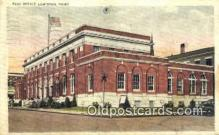 pst001094 - Lewiston, Maine USA,  Post Office Postcard, Postoffice Post Card Old Vintage Antique