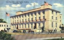 pst001110 - Pensacola, FL USA,  Post Office Postcard, Postoffice Post Card Old Vintage Antique
