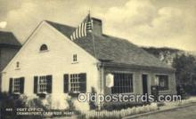 pst001113 - Cape Cod, Mass USA,  Post Office Postcard, Postoffice Post Card Old Vintage Antique