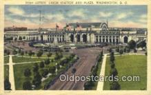 pst001117 - Washington, DC USA,  Post Office Postcard, Postoffice Post Card Old Vintage Antique