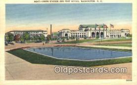 pst001118 - Washington, DC USA,  Post Office Postcard, Postoffice Post Card Old Vintage Antique