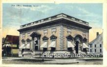 pst001119 - Oskaloosa, IA USA,  Post Office Postcard, Postoffice Post Card Old Vintage Antique
