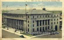 pst001124 - Muskogee, Okla USA,  Post Office Postcard, Postoffice Post Card Old Vintage Antique