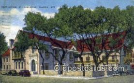 pst001131 - St Augustine, FL USA,  Post Office Postcard, Postoffice Post Card Old Vintage Antique