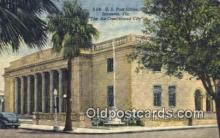 pst001133 - Sarasota, FL USA,  Post Office Postcard, Postoffice Post Card Old Vintage Antique