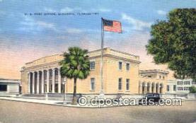 pst001134 - Sarasota, FL USA,  Post Office Postcard, Postoffice Post Card Old Vintage Antique