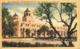 pst001138 - Los Angeles, CA USA,  Post Office Postcard, Postoffice Post Card Old Vintage Antique