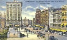 pst001150 - Worcester, Mass USA,  Post Office Postcard, Postoffice Post Card Old Vintage Antique