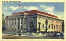 pst001153 - Marion, OH USA,  Post Office Postcard, Postoffice Post Card Old Vintage Antique