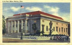 pst001153 - Marion, OH USA,  Post Office Postcard, Postoffice Post Card Old Vintage Antique