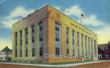 pst001154 - Monroe, LA USA,  Post Office Postcard, Postoffice Post Card Old Vintage Antique