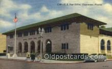 pst001158 - Clearwater, FL USA,  Post Office Postcard, Postoffice Post Card Old Vintage Antique