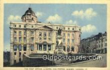 pst001161 - Quebec, Canada,  Post Office Postcard, Postoffice Post Card Old Vintage Antique