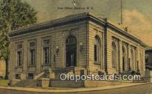 pst001174 - Nashua, NH USA,  Post Office Postcard, Postoffice Post Card Old Vintage Antique