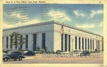 pst001175 - Oak Park, IL USA,  Post Office Postcard, Postoffice Post Card Old Vintage Antique