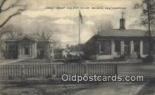 pst001179 - Lebanon, NH USA,  Post Office Postcard, Postoffice Post Card Old Vintage Antique