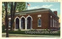 pst001182 - Claremont, NH USA,  Post Office Postcard, Postoffice Post Card Old Vintage Antique