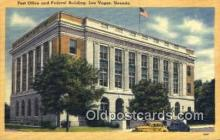 pst001183 - Las Vegas, NV USA,  Post Office Postcard, Postoffice Post Card Old Vintage Antique