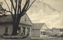 pst001194 - Cape Cod, Mass USA,  Post Office Postcard, Postoffice Post Card Old Vintage Antique