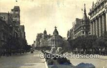 pst001196 - Madrid,  Post Office Postcard, Postoffice Post Card Old Vintage Antique