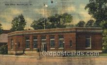 pst001202 - Skowhegan, ME USA,  Post Office Postcard, Postoffice Post Card Old Vintage Antique