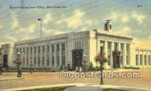pst001210 - Allentown, PA USA,  Post Office Postcard, Postoffice Post Card Old Vintage Antique