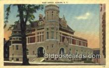 pst001215 - Auburn, NY USA,  Post Office Postcard, Postoffice Post Card Old Vintage Antique