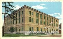 pst001220 - Clarksburg, W VA USA,  Post Office Postcard, Postoffice Post Card Old Vintage Antique