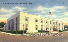pst001226 - West Palm Beach, FL USA,  Post Office Postcard, Postoffice Post Card Old Vintage Antique