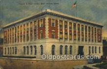 pst001229 - New London, Conn USA,  Post Office Postcard, Postoffice Post Card Old Vintage Antique
