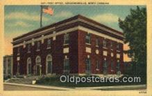 pst001236 - Hendersonville, NC USA,  Post Office Postcard, Postoffice Post Card Old Vintage Antique