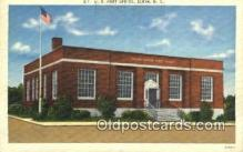 pst001241 - Elkin, NC USA,  Post Office Postcard, Postoffice Post Card Old Vintage Antique