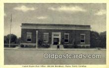 pst001242 - Dunn, NC USA,  Post Office Postcard, Postoffice Post Card Old Vintage Antique