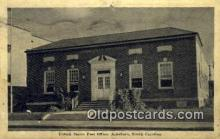 pst001243 - Asheboro, NC USA,  Post Office Postcard, Postoffice Post Card Old Vintage Antique