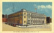 pst001246 - Utica, NY USA,  Post Office Postcard, Postoffice Post Card Old Vintage Antique