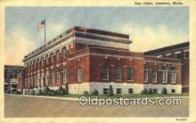 pst001250 - Lewiston, Maine USA,  Post Office Postcard, Postoffice Post Card Old Vintage Antique