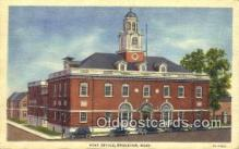 pst001253 - Brockton, MA USA,  Post Office Postcard, Postoffice Post Card Old Vintage Antique