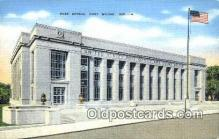 pst001263 - Fort Wayne, IN USA,  Post Office Postcard, Postoffice Post Card Old Vintage Antique