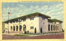 pst001268 - Clearwater, FL USA,  Post Office Postcard, Postoffice Post Card Old Vintage Antique