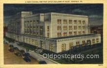 pst001286 - Norfolk, VA USA,  Post Office Postcard, Postoffice Post Card Old Vintage Antique