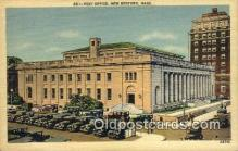 pst001289 - New Bedford, MA USA,  Post Office Postcard, Postoffice Post Card Old Vintage Antique