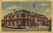pst001290 - Petersburg, VA USA,  Post Office Postcard, Postoffice Post Card Old Vintage Antique
