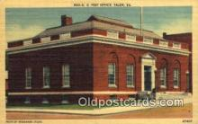 pst001292 - Salem, VA USA,  Post Office Postcard, Postoffice Post Card Old Vintage Antique