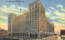 pst001308 - Chicago, IL USA,  Post Office Postcard, Postoffice Post Card Old Vintage Antique